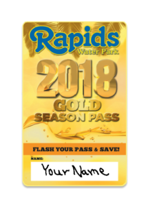 Gold Season Pass 2018