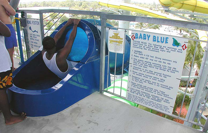 Baby Blue | Rapids Water Park - Riviera Beach, FL