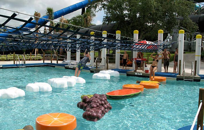 Criss Crossing Rapids Water Park Riviera Beach Fl