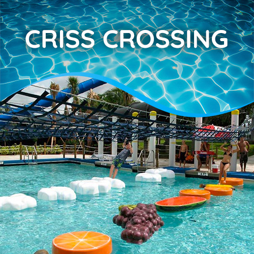 Criss Crossing | Rapids Water Park - Riviera Beach, FL