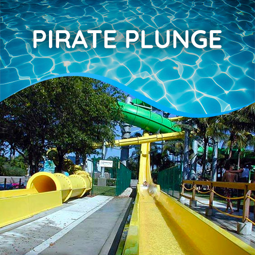 Pirate Plunge | Rapids Water Park - Riviera Beach, FL