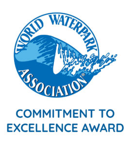 World waterpark association excellence award logo